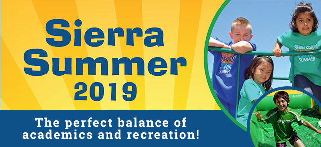 Sierra School Summer Program 2019